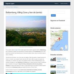 Battambang, Killing Cave y tren de bambú