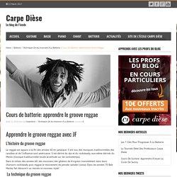 Cours de batterie: apprendre le groove reggae