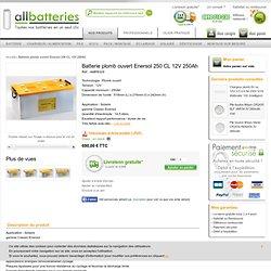 Batterie plomb ouvert Enersol 250 CL 12V 250Ah - AMP8329