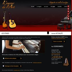 Magasin piano, guitare, batterie, instrument musique Bruxelles, Brabant Wallon - L'amour de l'Art