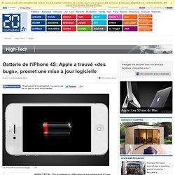 iPhone 4S: Les bidouillages pour augmenter la durée de vie de la batterie