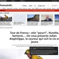 """Tour de France : vélo """"pourri"""", Nutella, batterie... On vous présente Julian Alaphilippe, le coureur qui voit la vie en jaune"""