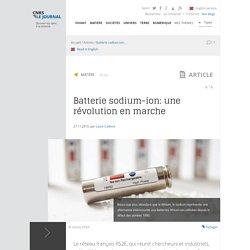 Batterie sodium-ion: une révolution en marche