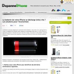 La batterie de votre iPhone se décharge (très) vite ? Les solutions pour l'économiser. » Blog Depanne iPhone
