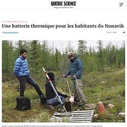 Une batterie thermique pour les habitants du Nunavik