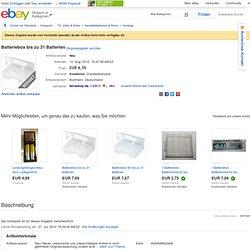 Batteriebox bis zu 31 Batterien 4040849423406