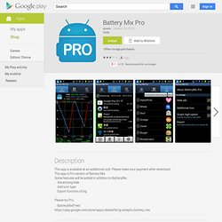 Battery Mix Pro