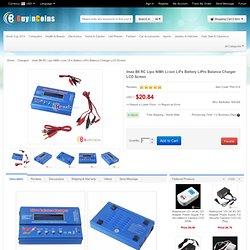 Imax B6 RC Lipo NiMh Li-ion LiFe Battery LiPro Balance Charger LCD Screen