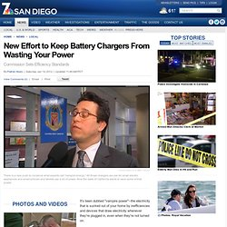 New Effort to Keep Battery Chargers From Wasting Your Power