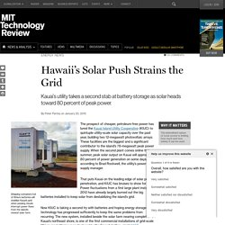Battery Performance Is Hurting Hawaii's Solar Push
