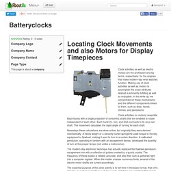 Batteryclocks