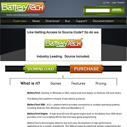 BatteryTech | Battery Powered Games LLC