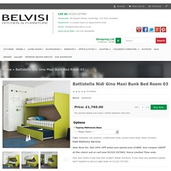 Battistella Nidi Gino Maxi Bunk Bed Room 03