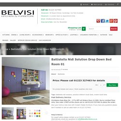 Battistella Nidi Solution Drop Down Bed Room 01