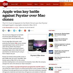 Apple wins key battle against Psystar over Mac clones | The Digital Home