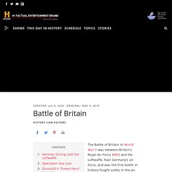 5.Battle of Britain