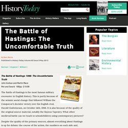 The Battle of Hastings: The Uncomfortable Truth