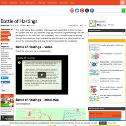 Blog Archive » Battle of Hastings