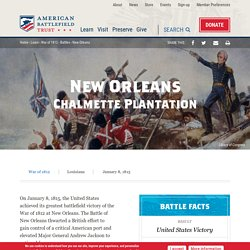 Battle of New Orleans Facts & Summary