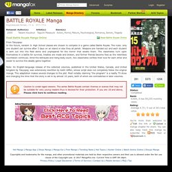 Battle Royale Manga - Read Battle Royale Manga Online for Free at Manga Fox