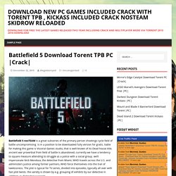 Battlefield 5 Download Torent TPB PC