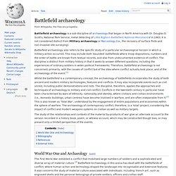 Archaeology - Archaeology, Essay