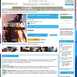 Battlefield 1 Premium Pass (Origin) origindigital