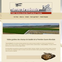 Somme battlefield tours - - Version française
