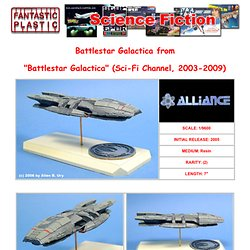 Battlestar Galactica 1:9600 Resin Model Kit by Alliance