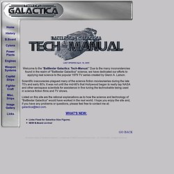 Battlestar Galactica: Technical Manual