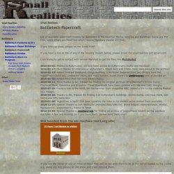 Battletech Papercraft - SmallRealities