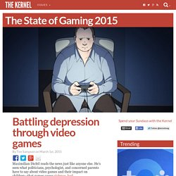 Battling depression through video games