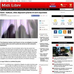 Gard : battues, elles déposent plainte et sont expulsées