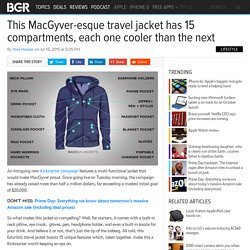Baubax Travelers Jacket: The Swiss Army Knife of jackets