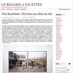 Éric Baudelaire : Des faits aux effets de réel
