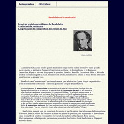 Baudelaire et modernité