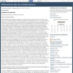 Baudelaire et la Ville (III) - Mémoire-de-la-Littérature