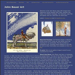 John Bauer Art: Trolls, Fairy Tales and Folk Tales - Swedish (18