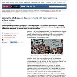 Landwirte als Blogger: Bauernverband will Internet-Foren unterwandern