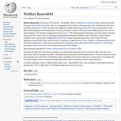 Walther Bauersfeld