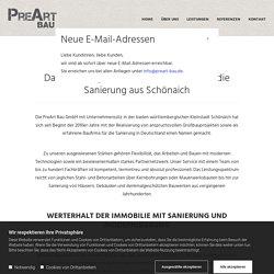 Baufirma für Sanierung in Schönaich