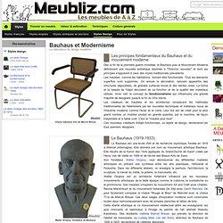 Le Bauhaus et le modernisme - (1920 - 1950)