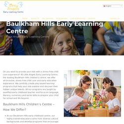Leading Child Care Centres in Baulkham Hills