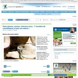 Baume à la noix de coco anti-zones sèches
