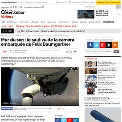 Le saut de Felix Baumgartner vu de sa caméra embarquée