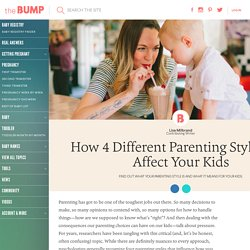 Baumrind's Parenting Styles and What They Mean for Kids