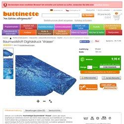 """Baumwollstoff-Digitaldruck """"Wasser"""" online kaufen"""