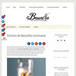Baunilla - Extrato de Baunilha Artesanal (Feito em Casa)