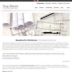 Baupläne für Minihäuser
