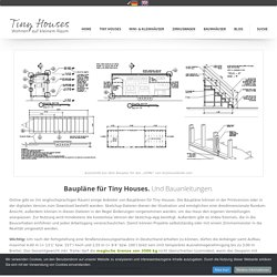 Baupläne für Tiny Houses